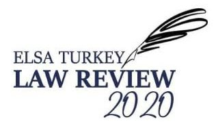 ELSA TURKEY Law Review