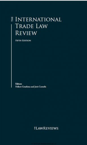 The International Trade Law Review  5th edition, Turkey 2019 - Law Business Research