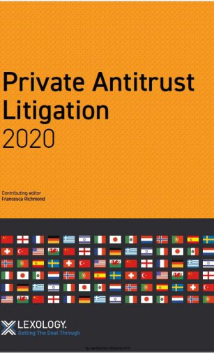 Private Antitrust Litigation 2020 Turkey- Getting The Deal Through