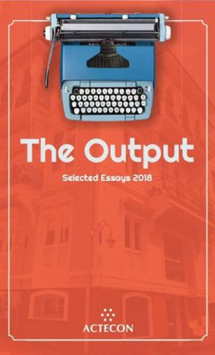 The Output Selected Essays 2018