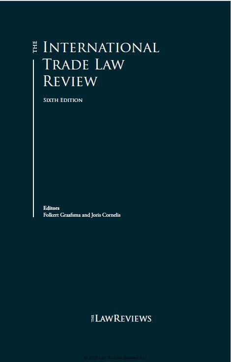 The International Trade Law Review 6th edition, Turkey 2020-Law Business Research